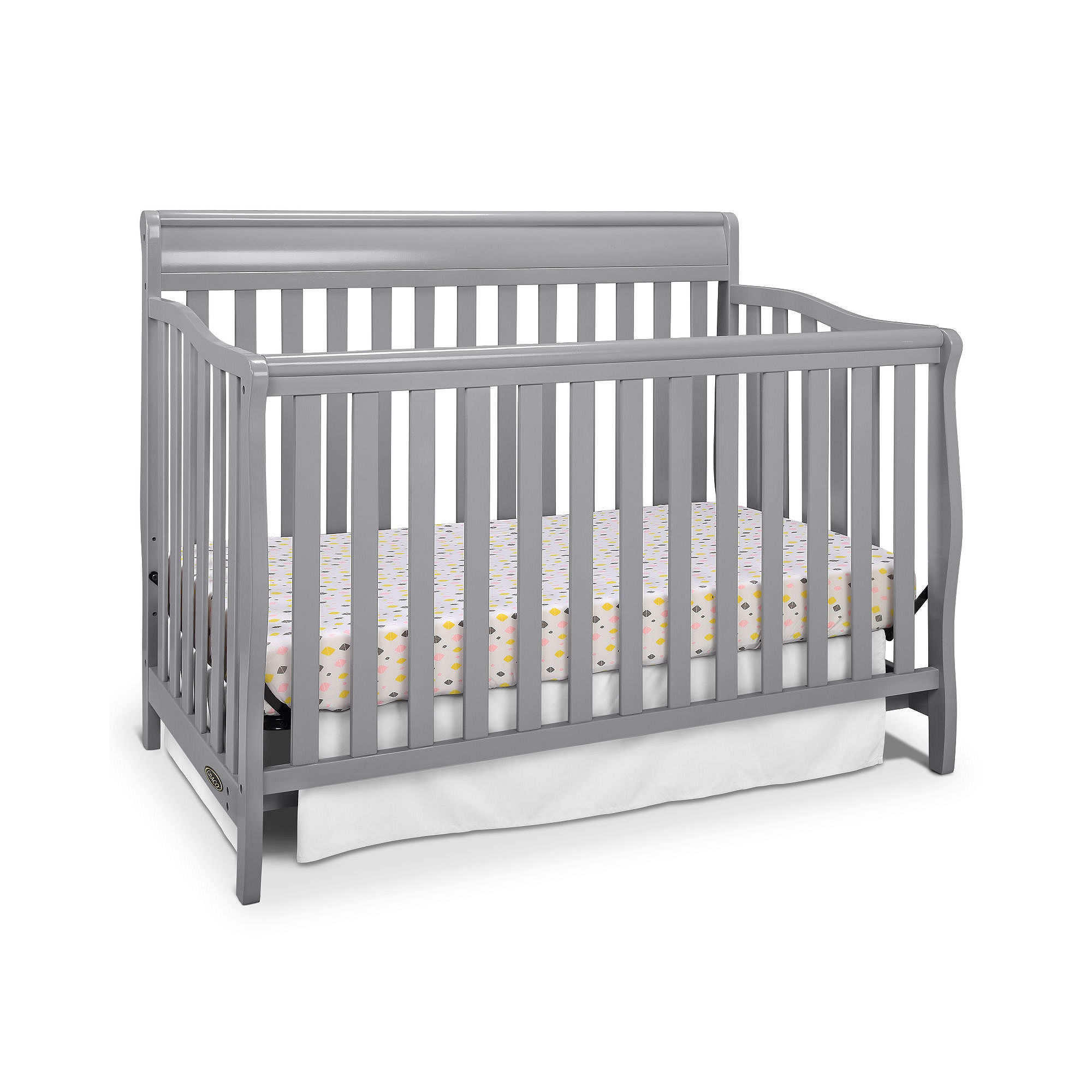 Get graco stanton 4 in 1 convertible crib limited for Best value baby crib