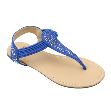 jcpenney.com | OMGirl Aria Girls Bungee Strap Sandals - Little Kid