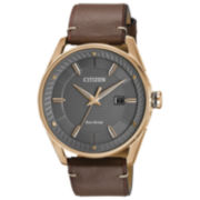 Citizen Brown Strap Watch-Bm6983-00h