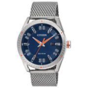 Citizen Silver Tone Bracelet Watch-Bm6990-55l