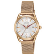 Citizen Rose Goldtone Bracelet Watch-Fe6083-72a