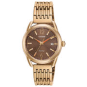 Citizen Womens Brown Bracelet Watch-Fe6083-56x
