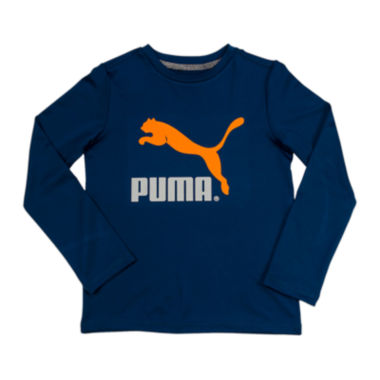 jcpenney.com | Puma® Long-Sleeve Graphic Tee - Boys 8-20