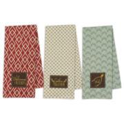 Design Imports Set of 3 Kitchen Towels