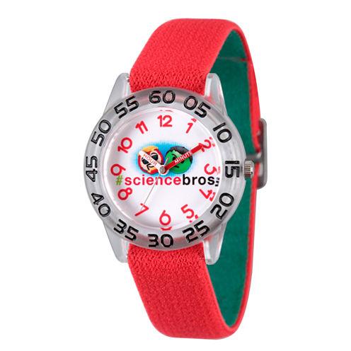 Emoji Marvel Boys Red Strap Watch-Wma000082