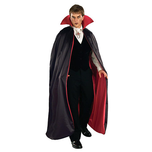 Reversible Deluxe Lined Vampire Cape