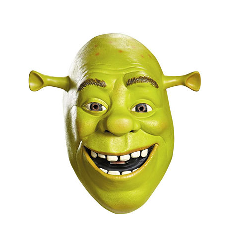 Shrek Deluxe Mask Mens 2-pc. Dress Up Accessory
