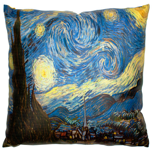 Oriental Furniture Van Gogh Starry Night Throw Pillow