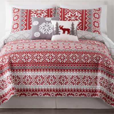 North Pole Trading Company Holiday 3-pc. Quilt - JCPenney : jcpenny quilts - Adamdwight.com
