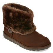 Arizona Porsha Faux-Fur Womens Booties