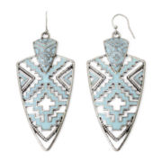 Decree® Geometric Open-Design Earrings