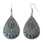 Arizona Aqua Teardrop Earrings