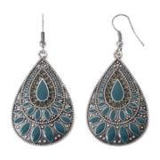 Arizona Aqua Teardrop Earrings