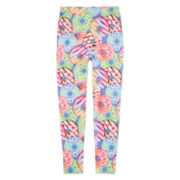Capelli of New York Donut-Print Leggings - Girls 7-16