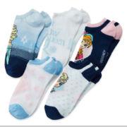 Disney Frozen 5-pk. No-Show Socks - Girls 7-16