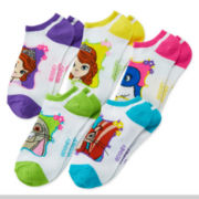 Disney Sofia the First 5-pk. No-Show Socks - Girls 7-16