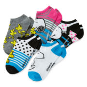 Snoopy 5-pk. No-Show Socks - Girls 7-16