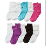 Total Girl® 10-pk. Bobby Socks - Girls 7-16