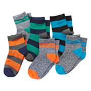 Okie Dokie® Low-Cut Socks - Boys 2-6