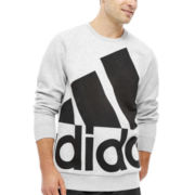 adidas® Essentials Logo Sweatshirt