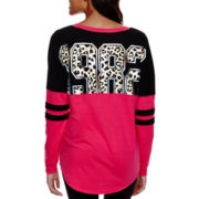 City Streets® Long-Sleeve Sweatshirt