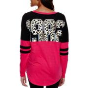 City Streets® Long-Sleeve Sweatshirt