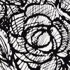 Blk/wht Petticoat