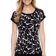 Worthington® Short-Sleeve Top