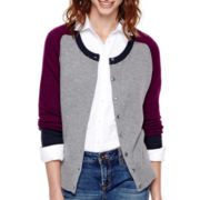 Stylus™ Long-Sleeve Button-Front Cardigan - Tall