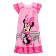 Disney Collection Minnie Mouse Nightgown - Girls 2-10