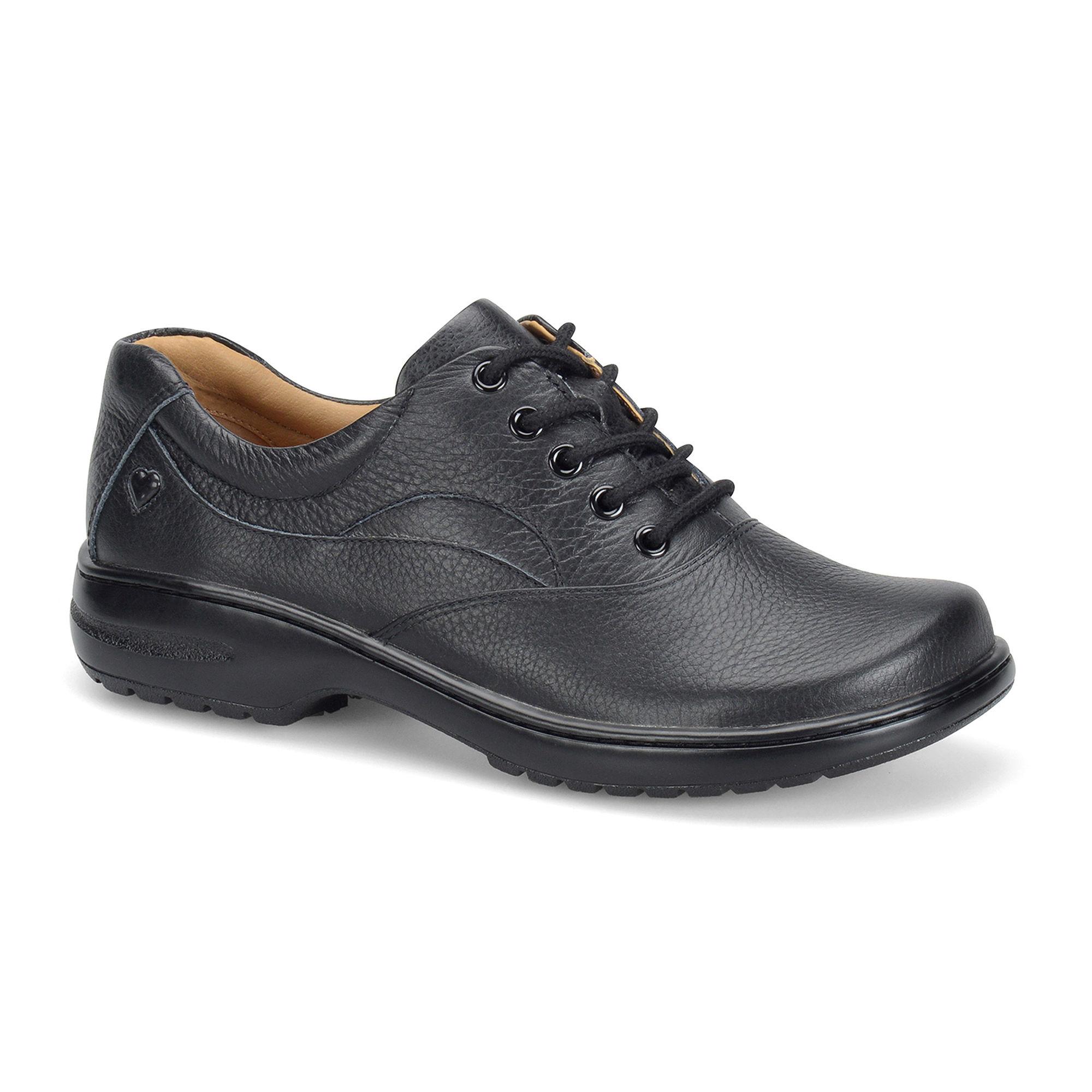 Nurse Mates Macie Leather Lace-Up Shoes plus size,  plus size fashion plus size appare