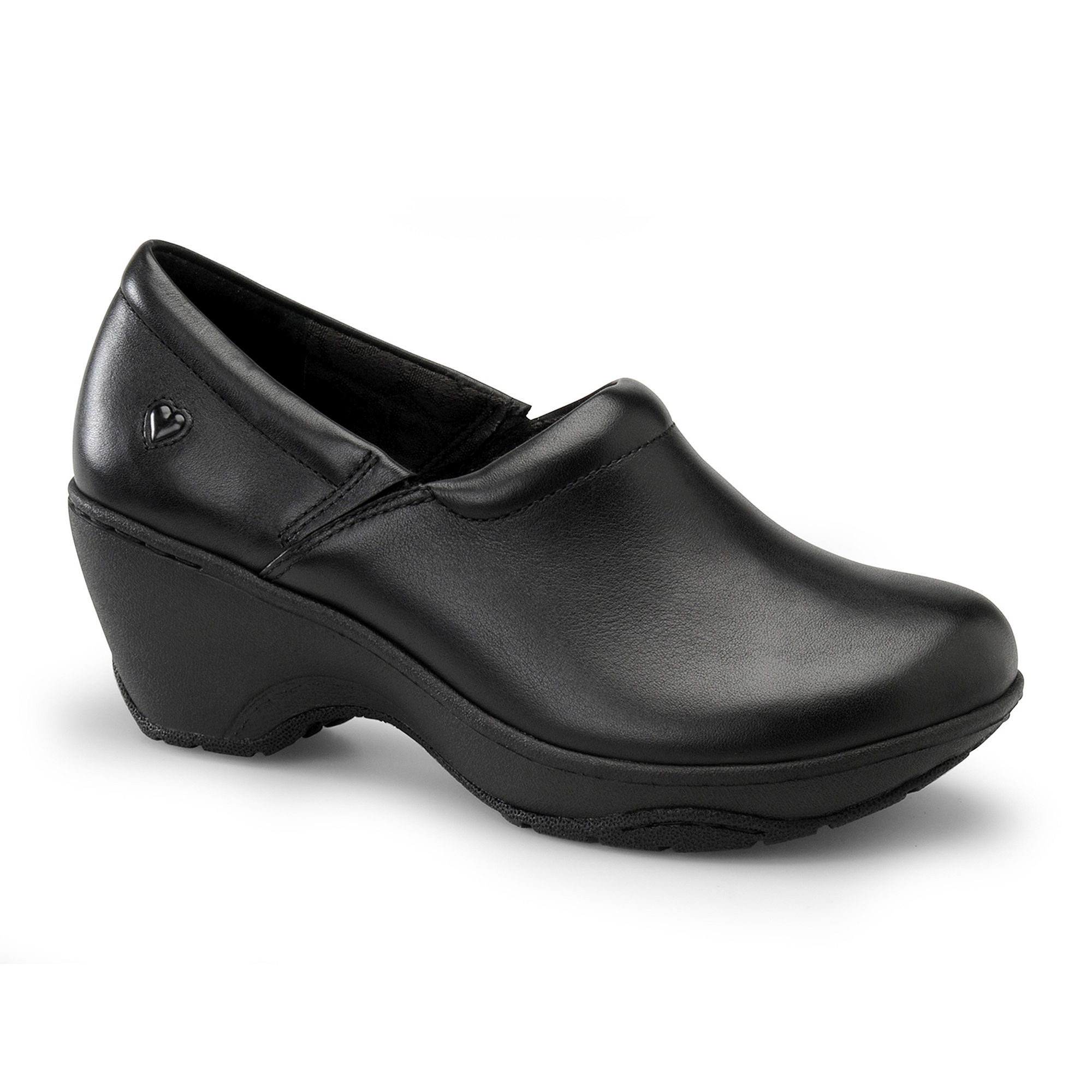 Nurse Mates Bryar Leather Slip-On Shoes plus size,  plus size fashion plus size appare