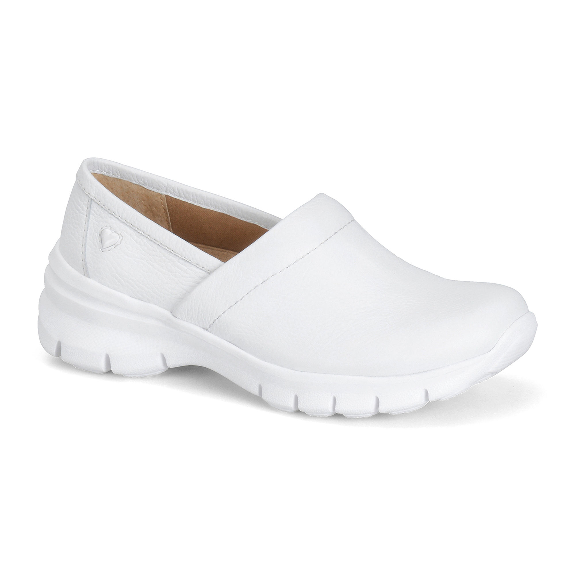 Nurse Mates Libby Leather Slip-On Shoes plus size,  plus size fashion plus size appare