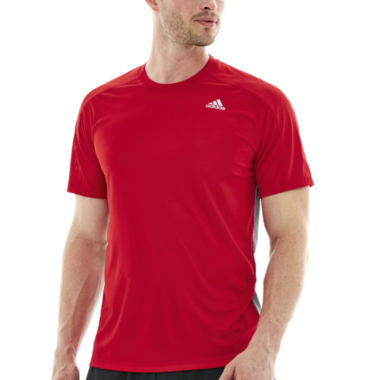 jcpenney.com | adidas® Short-Sleeve Climamax Top