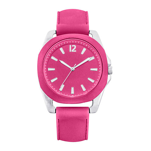 Womens Silicone Strap Watch