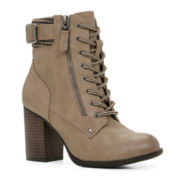 Call It Spring™ Zoadien Lace-Up Womens Boots