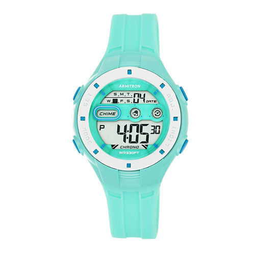 Armitron Womens Blue Strap Watch-45/7067tel