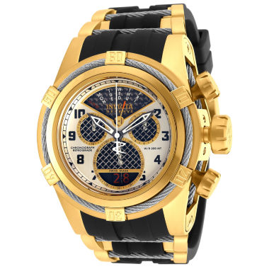 jcpenney.com | Invicta Mens Black Bracelet Watch-16317