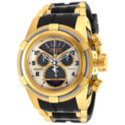 Invicta Mens Multi-Color Black Bracelet Watch