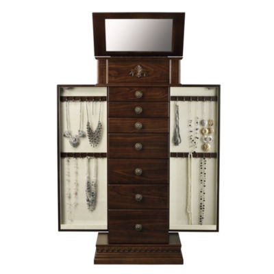Monet Chestnut Jewelry Armoire - JCPenney