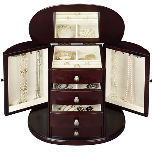 Chestnut Jewelry Box