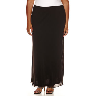 jcpenney.com | MSK Long A-Line Skirt - Plus