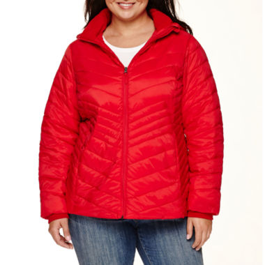 jcpenney.com | Xersion™ Packable Puffer Jacket-Plus