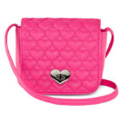 OMG Accessories Crossbody Quilted-Flap Bag - Girls