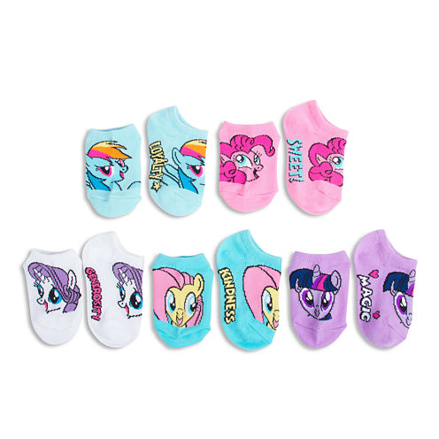 License 5-pk. My Little Pony No-Show Socks - Girls 7-16