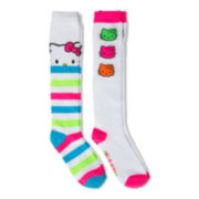License 2-pk. Hello Kitty Knee-High Socks - Girls 7-16
