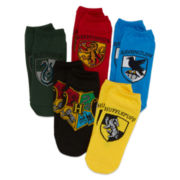 Harry Potter 5-pk. Low-Cut Socks - Boys 8-20