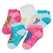 Shimmer and Shine 5-pk. Shorty Socks - Girls