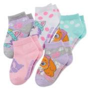 Paw Patrol 5-pk. Shorty Socks - Girls