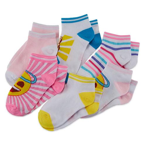 Emoji 6-pk. Stripe Socks